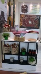 Cibus 2016 Parma presentazione della veganduja con farina di frumento e soia